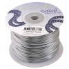 Rattail Cord 1mm Silver